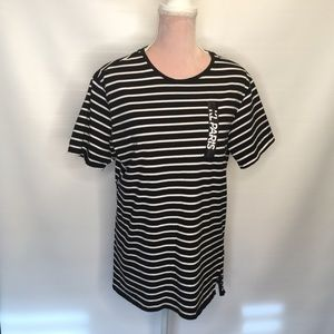 Karl Lagerfeld striped top. Parisian chic.